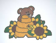 bearhiveandsunflowers17x12.jpg