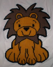lionsittingwallhanging14x12.jpg