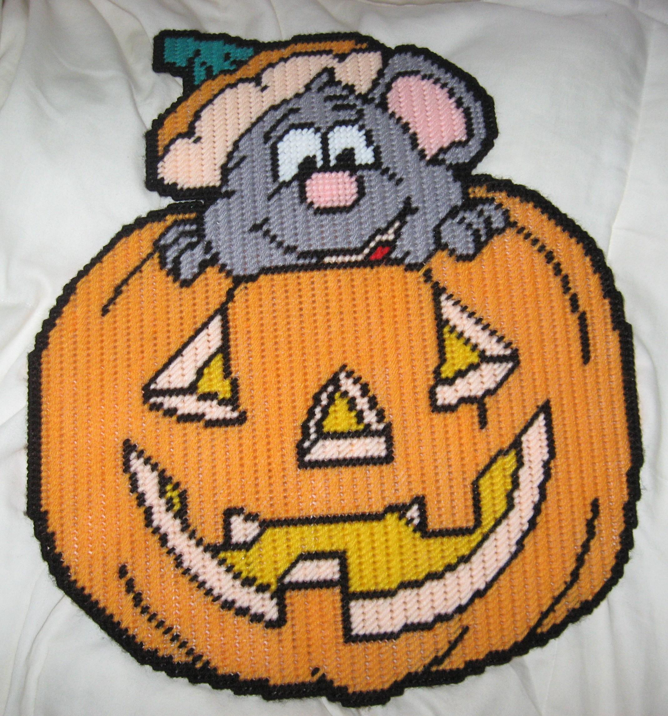 halloween plastic canvas patterns
